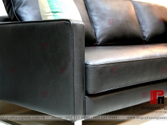 SOFA VĂNG DA PS068